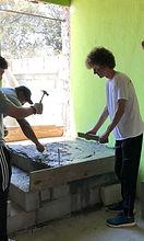 Hampton building a house in Guatemala 20