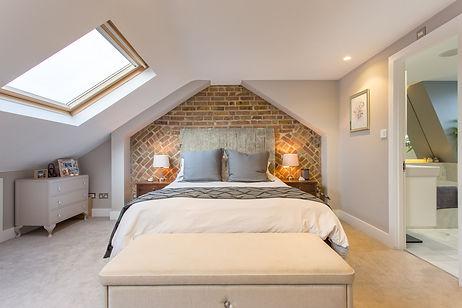 Mezzanine bedroom loft conversion