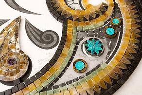 Mosaic design details