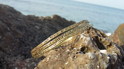 Inspirational Brass Bracelets