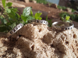 Inspirational Silver rings
