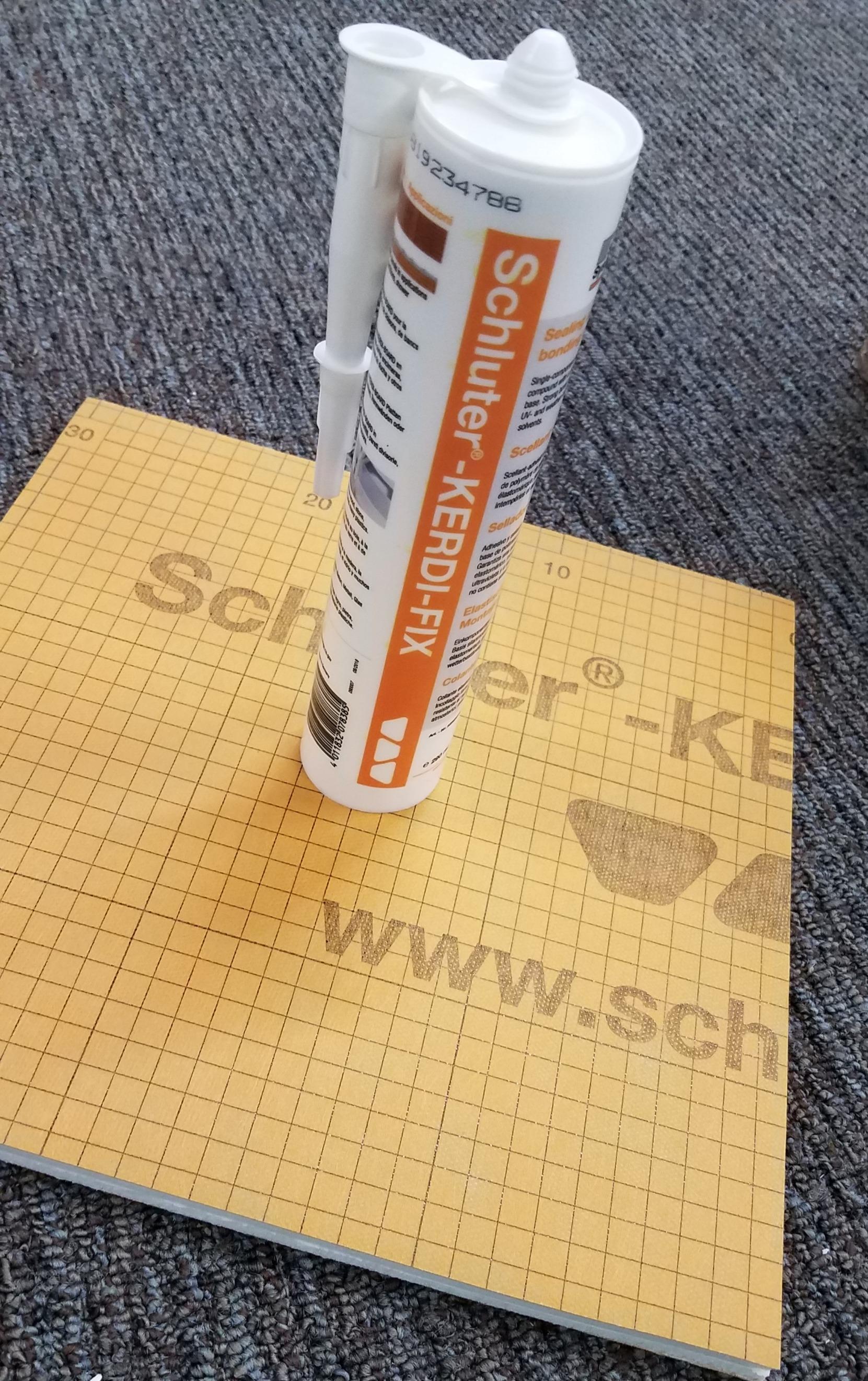 Kerdi - Fix by Schluter