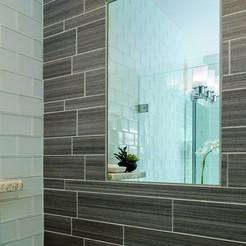 Shower ClearMirror heated shaving mirror in showers.jpg