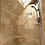 Shower ClearMirror sits flush with your bathroom shower tile surround for shaving