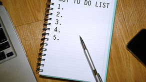 Die Not-to-do-Liste