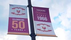 Light Pole Banners