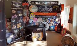 Backdrop & Drum Heads