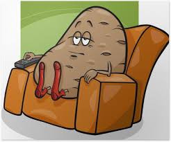 Get off the couch & turn off the TV!