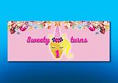 Baby Girl Birthday Gold Glitter & Pink Unicorn Design