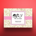 5 X 7 Envelope Special Wedding Invitation Floral Royal Pink Design