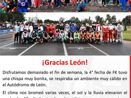 NOTA EVENTO FÓRMULA KARTS 4 EN EL AUTÓDROMO DE LEÓN