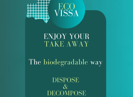 Enjoy your takeaway the biodegradable way!