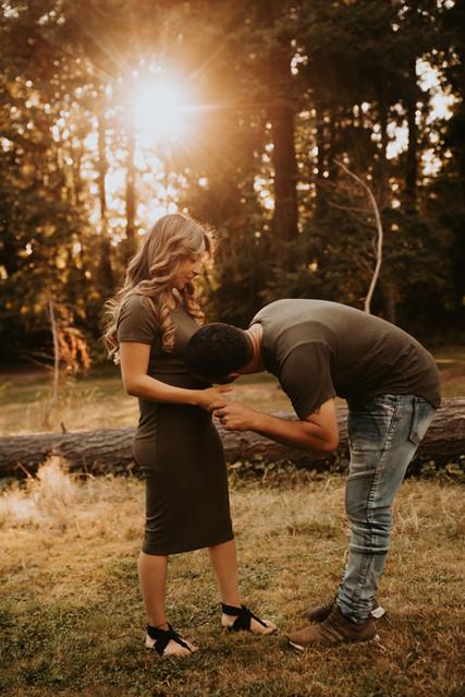 engagement photos washington
