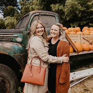 ellie & jenny pumpkin patch