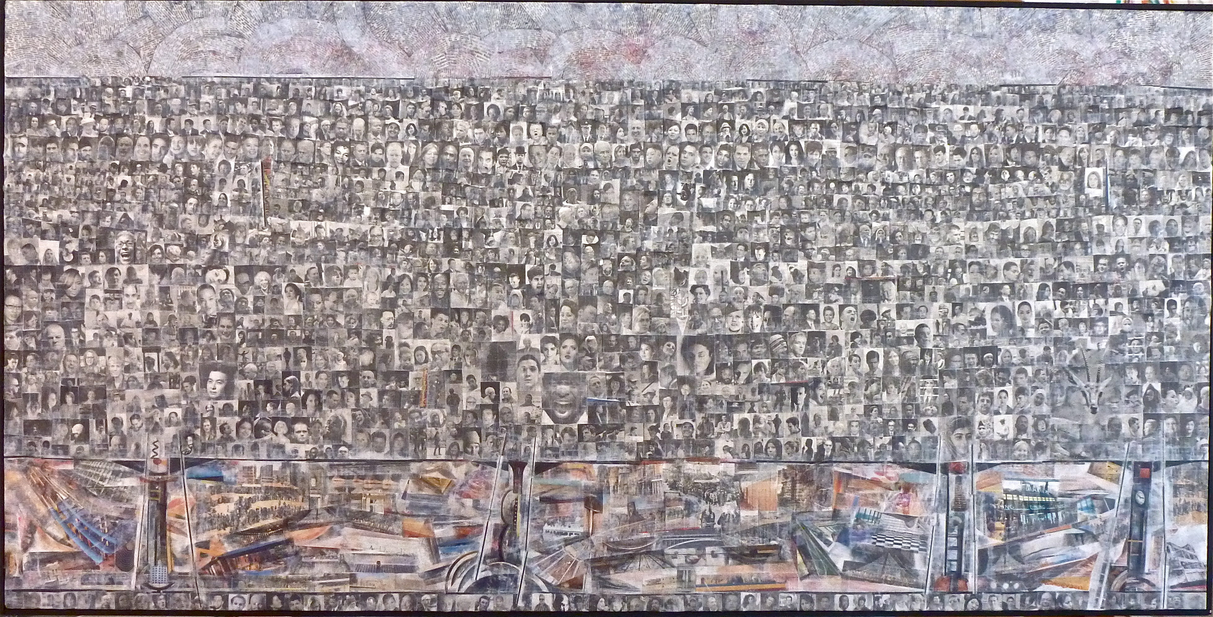 """The Skin of the City"" 2013 (SOLD)"
