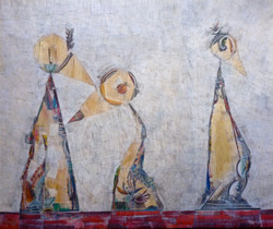 """Three is a Crowd"", 2015 (SOLD)"