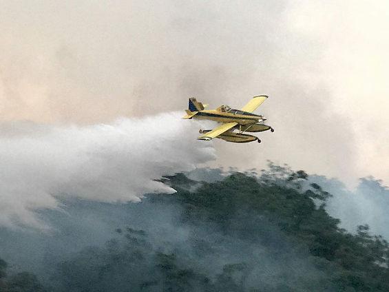 AERIAL FIRE SUPPRESSION