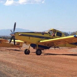 Air tractor fleet + Supercub