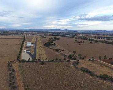 Aerial view Australia
