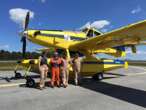 Aerial firefighting company Australia