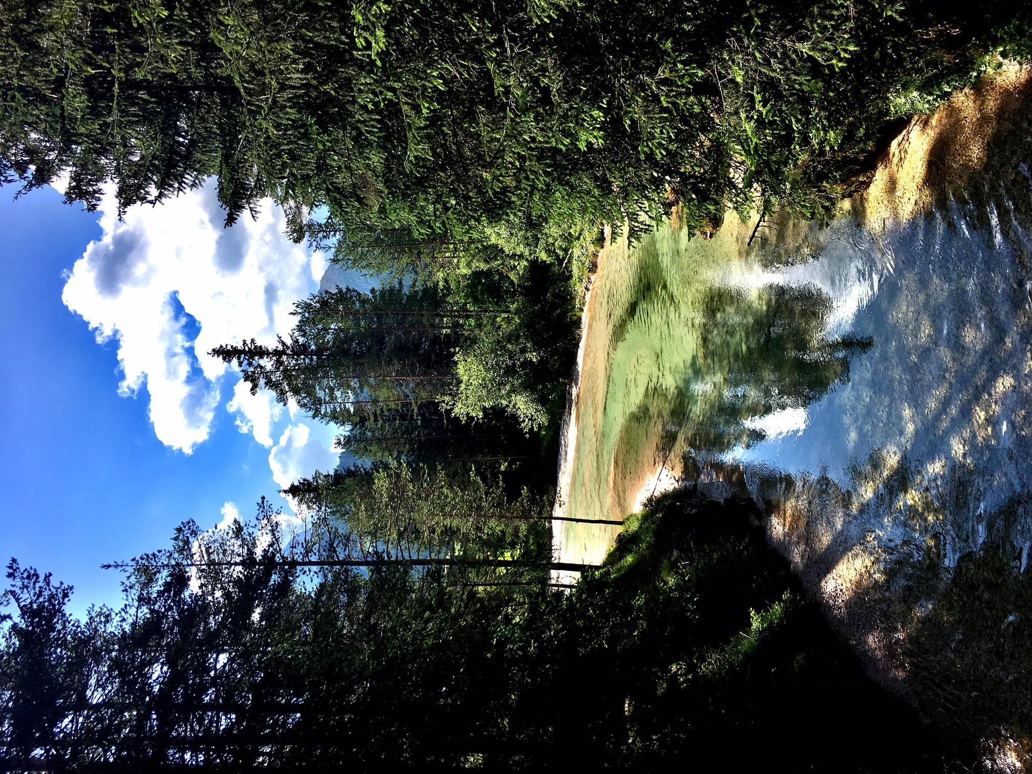 Mountain river at Armentarola (BZ)