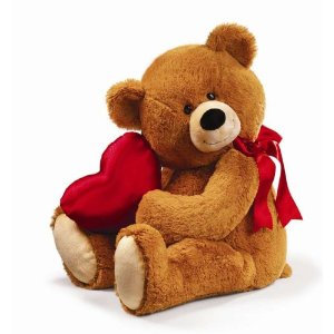 Medium Valentines Day Bear