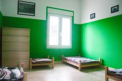 Habitación y camas
