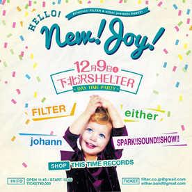 2017.12.9(sat) 下北沢SHELTER 昼公演 either x FILTER presents, Hello!!New!!Joy!!