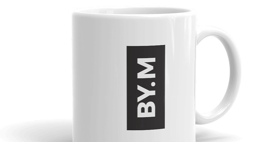 White mug BY.M block