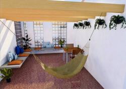 Vista Interior Terraza