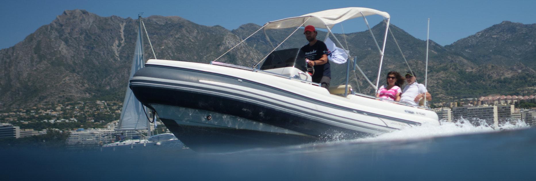 Powerboat Level 2 RYA Marbella Sailing S