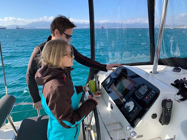 RYA Training Centre Marbella Catamaran T