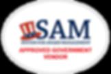 SAM Logo White Oval.png