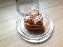 Coeur sablé chocolat-carambar