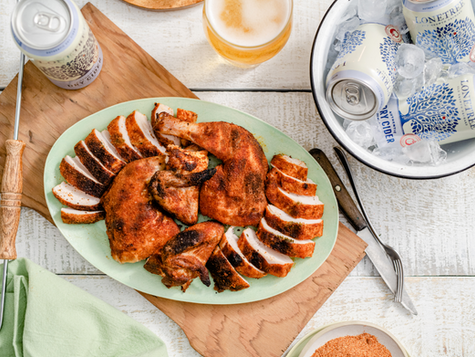 """Food Network Canada's Chef Dale Mackay Lonetree Authentic Dry """"Cider Can Chicken"""""""