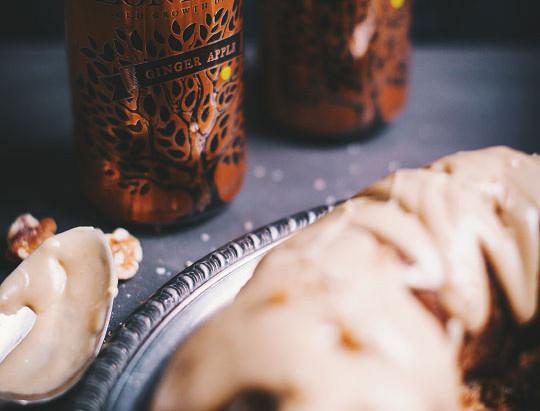 Apple Bundt Cake with Lonetree Apple Ginger Cider | Le Coup de Grace