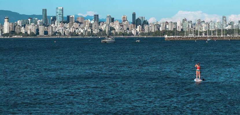 SUP Vancouver | Ocean Blu Vodka Sod | Low Calorie Cooler | Vodka