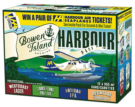 Bowen Island Harbour Air Promo Pack 2020