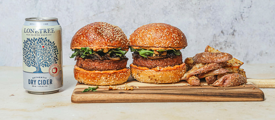 Sweet Balsamic Onion Beyond Burger