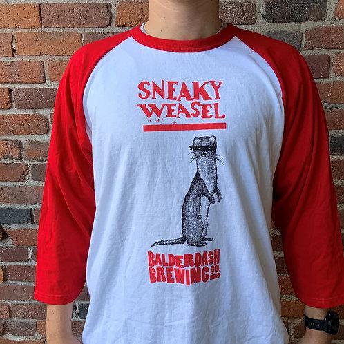 Sneaky Weasel Baseball Shirt