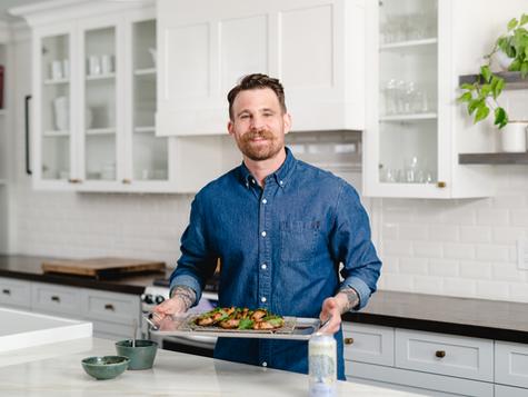 Food Network Canada's Chef Dale Mackay Dry Cider Marinated Pork Chop with Lonetree Teriyaki
