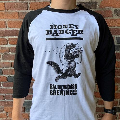 Honey Badger Baseball Shirt