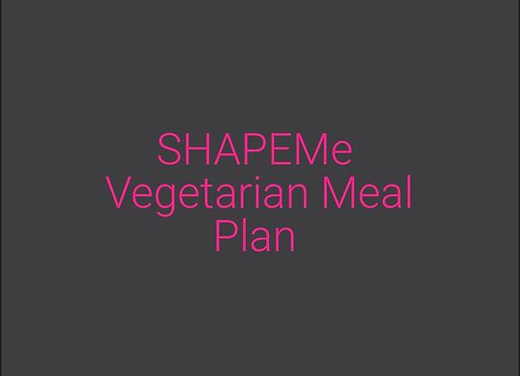 SHAPEMe Vegetarian Meal Plan