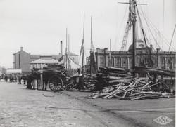 Firewood on the Docks