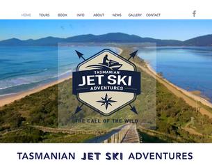 Tasmanian Jet Ski Adventures - Website Launch