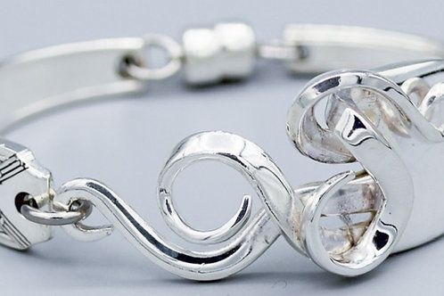 Antique Fork Bracelet Design #4