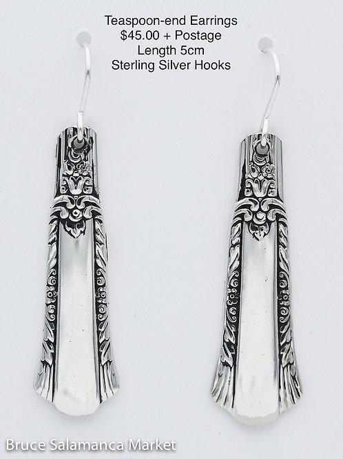 Teaspoon-end Earrings #19