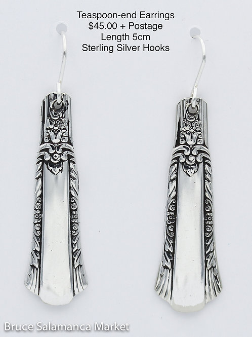 Teaspoon-end Earrings #19