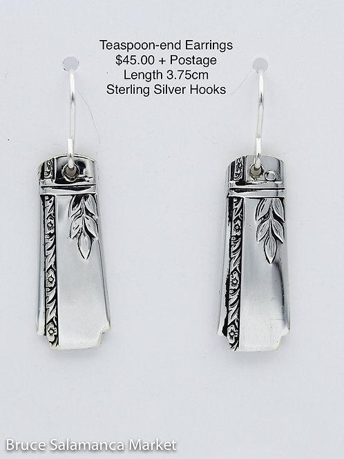 Teaspoon-end Earrings #8