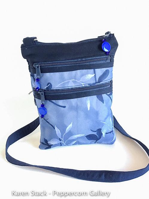 Cross Body Bag - Medium - Navy